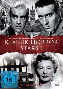 KLASSIK HORROR STARS 1 - Boris Karloff l Barbara Stanwyck l Chri
