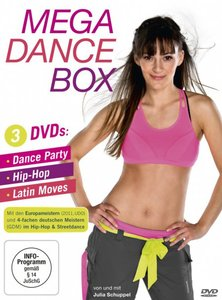 Mega Dance Box-Dance Party,Hip-Hop,Latin Moves