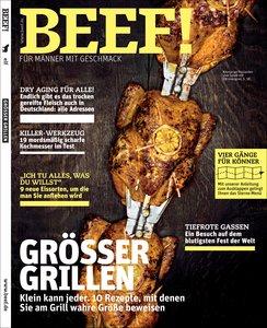 BEEF! - Für Männer mit Geschmack. Ausgabe 3/2012
