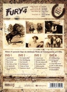 Fury-Box 4 (4-DVD-DigiPak)