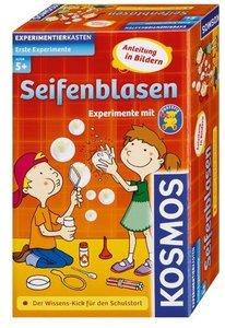 Kosmos 602192 - Erste Experimente: Seifenblasen