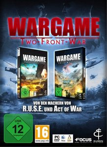 Wargame: Two-Front-War. Für Windows XP/Vista/7/MAC/Linux