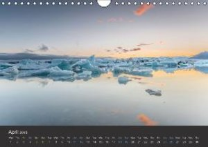 Iceland / UK-Version (Wall Calendar 2015 DIN A4 Landscape)