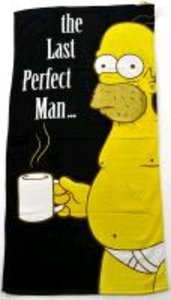 """The Simpsons Strandtuch """"The Last Perfect Man"""""""