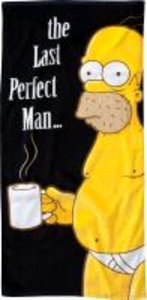 "The Simpsons Strandtuch ""The Last Perfect Man"""