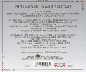 Cavalleria Rusticana (Ga,It.&D)