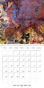 Unintended Wall Art (Wall Calendar 2015 300 × 300 mm Square)