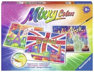 Aquarelle Weltstädte. Mixxy Colors Maxi