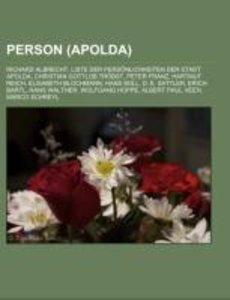 Person (Apolda)
