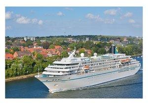 Blaues Band - Kreuzfahrtschiffe (Posterbuch DIN A4 quer)