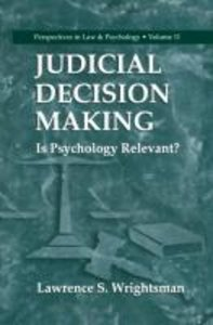 Judicial Decision Making