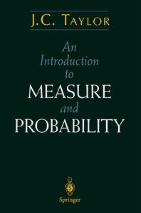 An Introduction to Measure and Probability