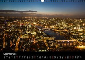 London - Night Shots (Wall Calendar 2015 DIN A3 Landscape)