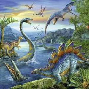Faszination Dinosaurier. Puzzle 3 X 49 Teile