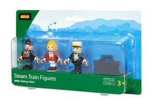 Brio 33521 - Figurenset: Bahn Reisende für Dampfzug
