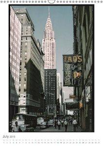New York City - Vintage Views (Wall Calendar 2015 DIN A3 Portrai