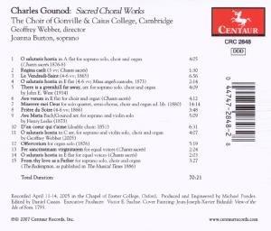 Geistliche Chorwerke