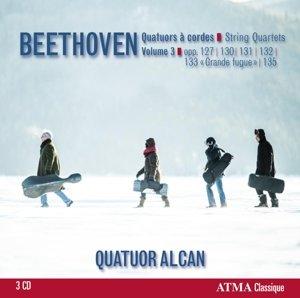 Beethoven: String Quartets,Vol.3.op.127,131,