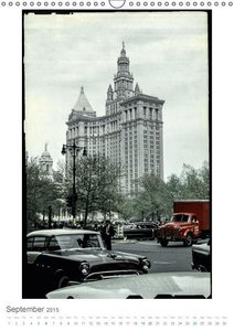 New York City - Vintage Views (Wall Calendar 2015 DIN A3 Portrai