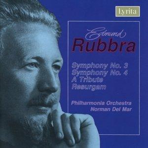 Rubbra Sinf.3+4