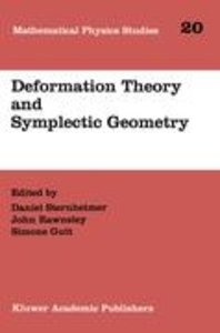 Deformation Theory and Symplectic Geometry