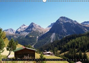 Switzerland - Mountain Landscapes (Wall Calendar 2015 DIN A3 Lan