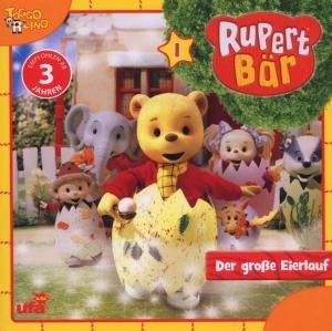 Rupert Bär 1-Der grosse Eierlauf/Audio