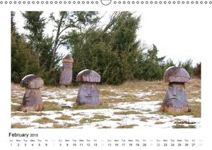 Wood and Timber / UK-Version (Wall Calendar 2015 DIN A3 Landscap