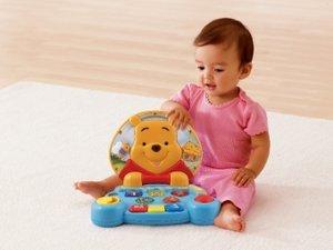 VTech Baby 80-113804 - Winnie Puuh: Erster Laptop