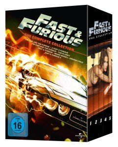 Fast & Furious 1-5 the Collection