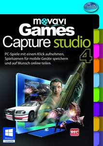 movavi Game Capture Studio. Für Windows 7 und 8, Vista, XP (jewe