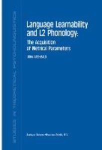 Language Learnability and L2 Phonology