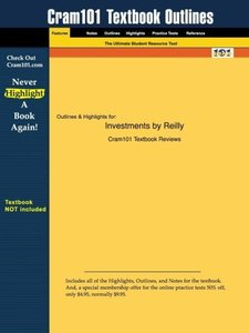Outlines & Highlights for Investments by Frank K. K. Reilly, Edg