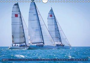 Segeln: Der Sonne entgegen (Wandkalender 2016 DIN A4 quer)