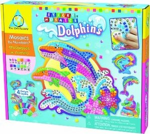 Invento 620882 - The Orb Factory: Sticky Mosaics - Dolphins