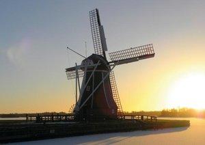 Traumhafte Windmühlen (Posterbuch DIN A4 quer)
