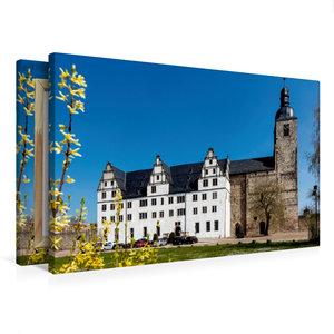 Premium Textil-Leinwand 75 cm x 50 cm quer Klosterkirche St. Mar