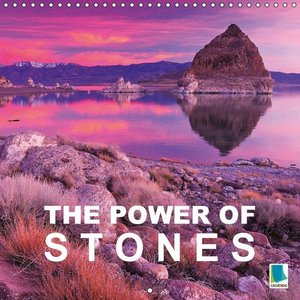 The power of stones (Wall Calendar 2015 300 × 300 mm Square)