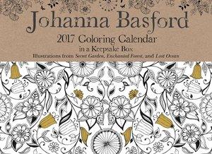 Johanna Basford 2017 Day-to-Day Coloring Calendar