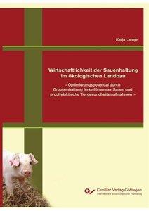 Wirtschaftlichkeit der Sauenhaltung im ökologischen Landbau