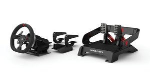 MadCatz Pro Racing Force Feedback Wheel inkl. Pedale (Xbox One)