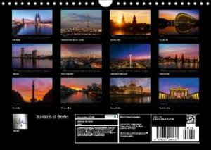 Sunsets of Berlin (Wall Calendar 2015 DIN A4 Landscape)