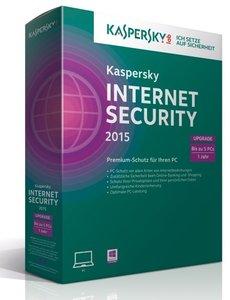 Kaspersky Internet Security 2015 Upgrade (5PC/1Jahr) - Premium-S