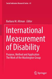 International Measurement of Disability