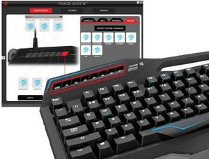 S.T.R.I.K.E. TEÖ Mechanische Gaming-Tastatur, Keyboard für PC, s