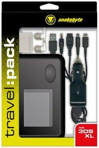 snakebyte travel:pack - Reiseset, Zubehörset für NEW3DS XL