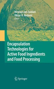 Encapsulation Technologies for Active Food Ingredients and Food