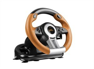 Speedlink SL-6695-BKOR DRIFT O.Z. Lenkrad - Racing Wheel PC, sch