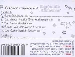 Benjamin Blümchen. Gute-Nacht-Geschichten 08. Cassette