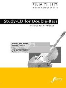 Studiy-CD for Double-Bass - Sonata in a minor